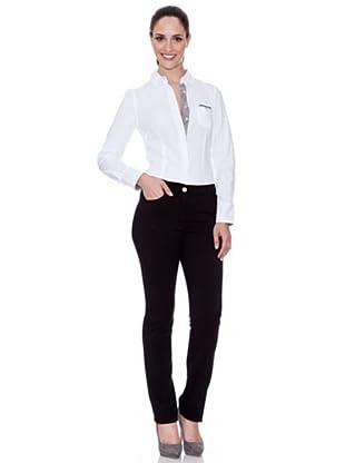 Cortefiel Five Pocket Jeans (Schwarz)