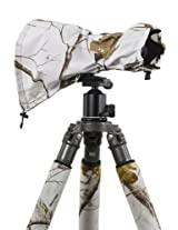 LensCoat LCRSMSN RainCoat RS for Camera and Lens, Medium (Realtree AP Snow)