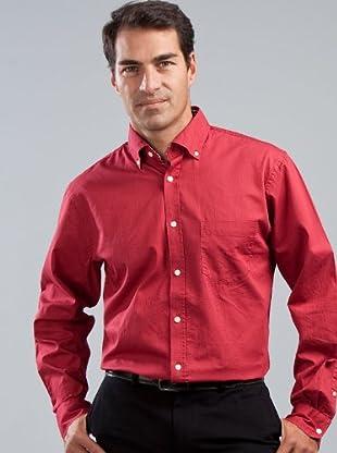 Cortefiel Camisa Bolsillo (Rojo)