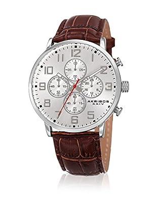 Akribos XXIV Reloj de cuarzo Man AK854SSBR Brown