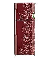 LG 240L 2 Star GL B252VPGY Double Door Refrigerator-Wine Blossom