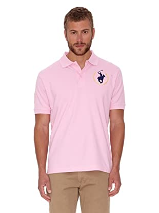 Polo Club Polo Custom Fit Logo Big (Rosa)