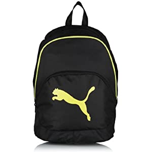 Puma Black And Yellow Sports Backpack