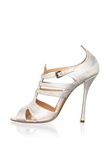 Edmundo Castillo Women's Rosangela Sandal (Silver)
