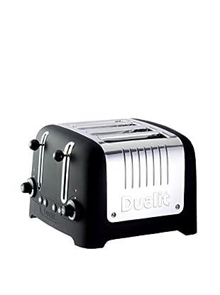 Dualit Lite Chunky 4-Slice Toaster, Black