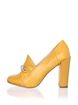 Be&D Women's Wade Lace-Up Pump (Orange)