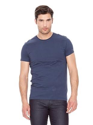 Calvin Klein Jeans Camiseta Basic M / C (Azul)
