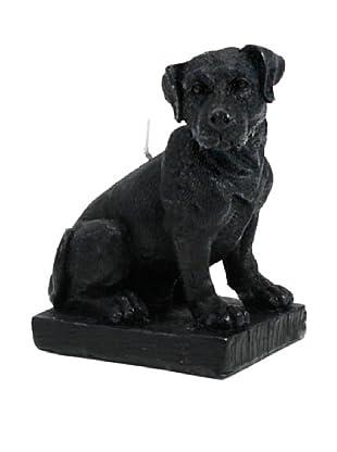 D.L. & Co. Labrador Candle, Black