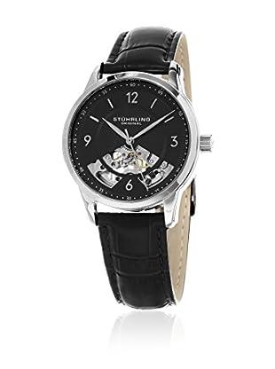 Stührling Original Uhr mit Schweizer Mechanikuhrwerk Legacy 977.02 schwarz 40  mm
