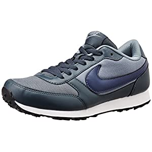 Nike 540555-012 Men's Running Shoes - Grey And Navy