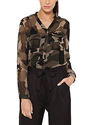 Tantra Bluse Camouflage with Pockets
