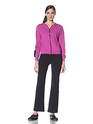 Body Up Women's Piece It Together Jacket (Pink/Black)