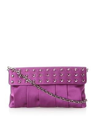 Inge Christopher Women's Zsa Zsa Flap Top Clutch (Purple)