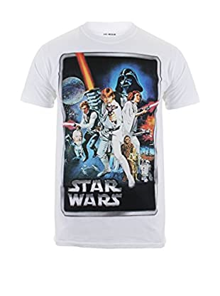 Star Wars Camiseta Manga Corta New Hope Poster