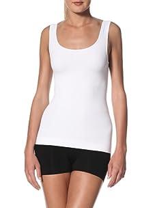 Cass Women's Scoop Skinny Top (White)