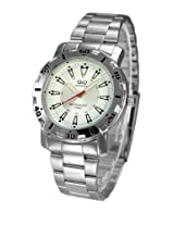 Q&Q Analog White Dial Men's Watch - Q616N201Y