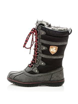 Vertigo Botas de Nieve Feta (Negro)