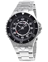 Sector Analog Black Dial Men's Watch - R3253111025