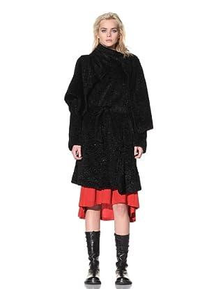 Ann Demeulemeester Women's Merlin Coat (Black)