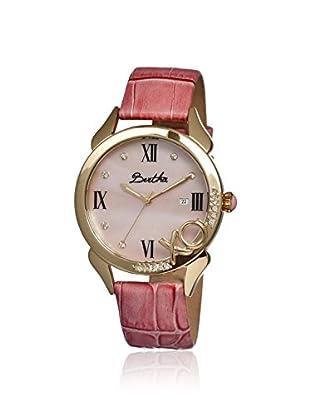 Bertha Women's BR2304 XO Light Pink Leather Watch