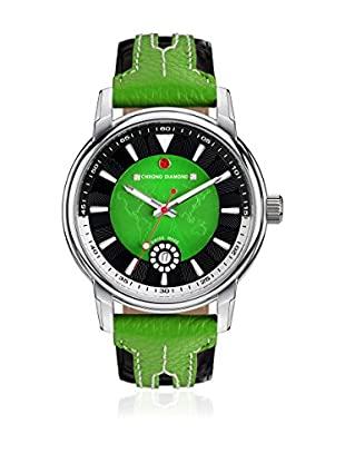 Chrono Diamond Reloj con movimiento cuarzo suizo Man 11200Ar Argos Negro / Verde 43.0 mm