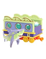 Learning Curve Dinosaur Train Collectible Dinosaur With Train Car: My Friends Can Swim: Carla