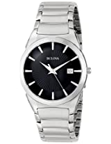 Bulova Classic Analog Black Dial Men's Watch - 96B149