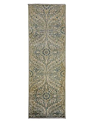 Darya Rugs Oushak Oriental Rug, Light Blue, 2' 6