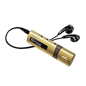 Sony NWZ-B183F Walkman MP3 Player with Built-in FM Tuner (4GB) - Gold