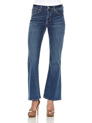 Levi´s Jeans Klassisch Demi Curve ID Slim 5-Pocket-Style (downpour)