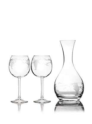 Susquehanna Glass 3-Piece Sonoma Grape Wine Set
