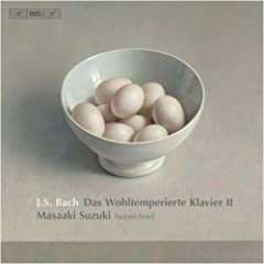 輸入盤CD 鈴木 雅明(ハープシコード) J.S.バッハ:平均律クラヴィーア曲集 第2巻(2枚組)のAmazonの商品頁を開く