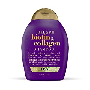Org Thick and Full Biotin and Collagen Shampoo, 385ml