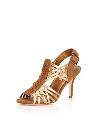 Cynthia Vincent Women's Ramsay Sandal (Gold)