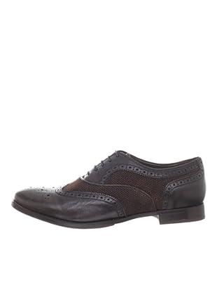 Geox Zapatos Oxford (Café)