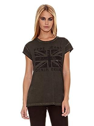 Pepe Jeans London Camiseta Soul (Verde Militar)
