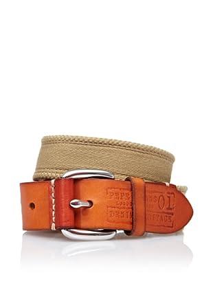 Pepe Jeans London Cinturón Foster (Marrón)
