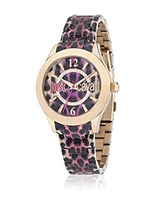 Just Cavalli Reloj de cuarzo Woman Just Havana Morado / Dorado 37 mm