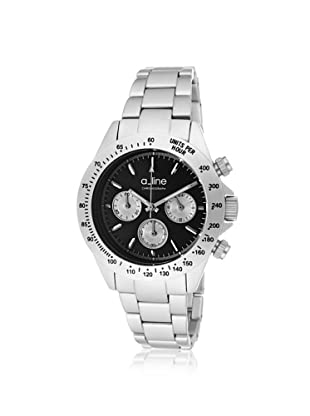 a_line Women's 20050-SL-BK Amore Black Aluminum Watch