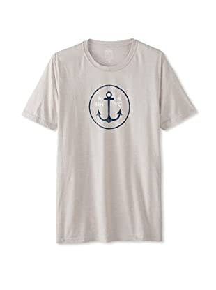 Brookline Men's Beverly Hills Anchor Tee (Silver)
