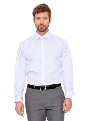 Cortefiel Unifarbenes Hemd (Violett)