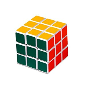 Magic Cube 3x3x3 White Stickerless Rubik's Cube