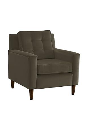Skyline Furniture Armchair, Velvet Pewter