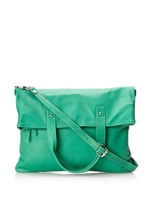 Luciana Verde Women's Jesse Foldover Bag (Green)