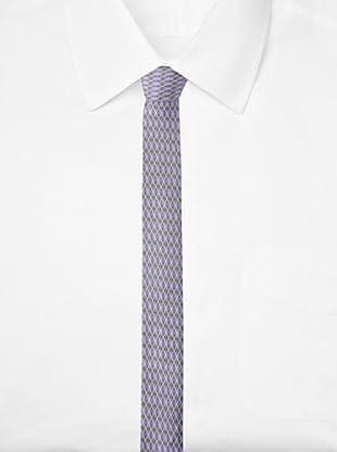 Ben Sherman Men's Lombard Argyle Tie (Purple)