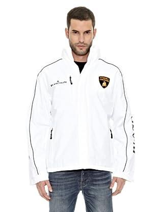 Lamborghini Chaqueta Outerwear (Blanco / Negro)