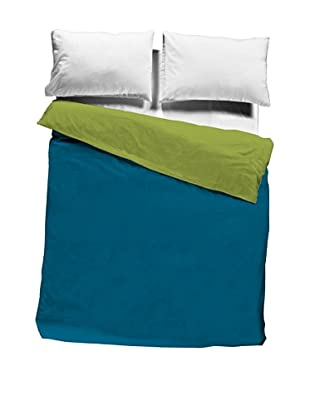 Nido Saco Nórdico 100% Algodón (Azul / Verde)