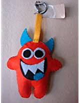 Knitknacks Orange Felt Hanging Decoration