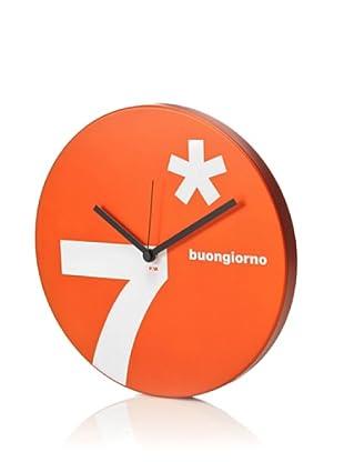 Nava Design Reloj Corrubbio Naranja