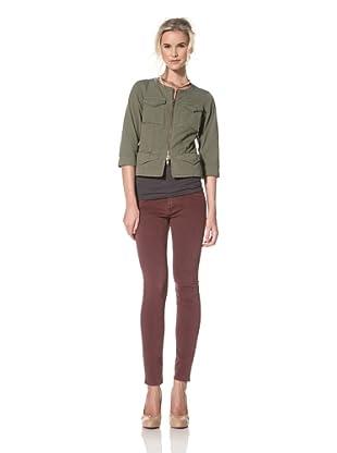 Trovata Women's Klinger Military Chanel Jacket (Olive)